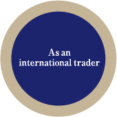 as a international trader