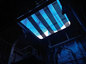工事用機器搬入口(甲板)